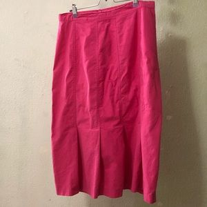 Vintage 🍋 Venezia sportswear pink long skirt